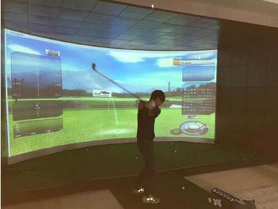 高速摄像模拟高尔夫B