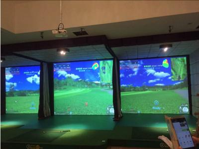 高速摄像模拟高尔夫C
